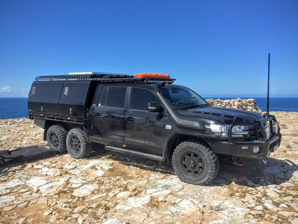 Australian Expedition Vehicles 6x6 6 Wheel Drive