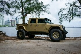 Bruiser Conversions Jeep Wrangler pickup