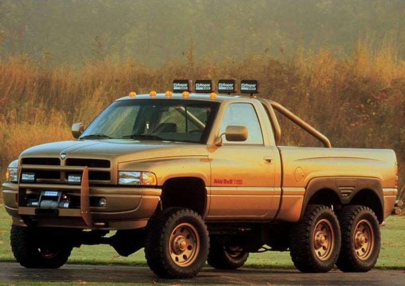 Dodge Ram T Rex 6x6 6 Wheel Drive