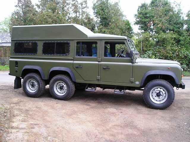 Foley Land Rover 6x6 | 6 Wheel Drive