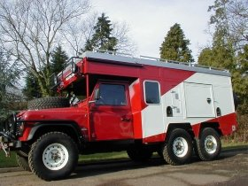 Foley Land Rover 6x6