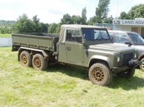 Land Rover prototype