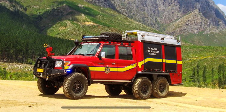 6x6 Rescue Attack Pumper